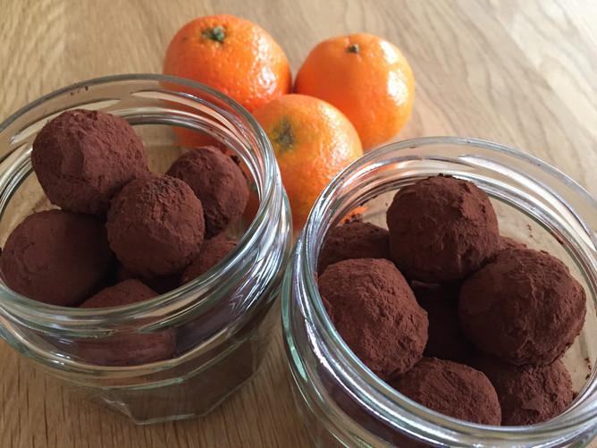 Avocado-chokolade trøfler
