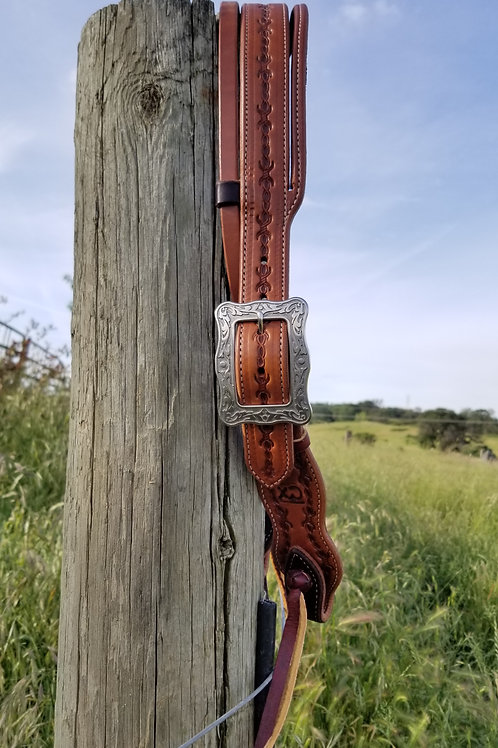 Barbed Wire Headstall- One Ear
