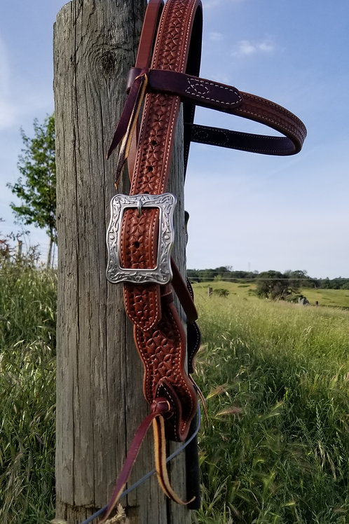 Sunburst Headstall-Wide