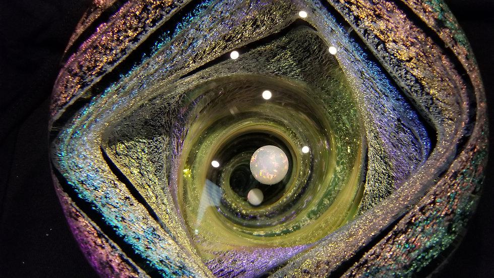 "#031 5.75"" Squarecase 10mm Opal"