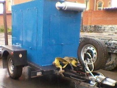 дизельный генератор в капоте