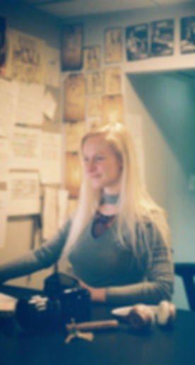 Kate as Emerson College Post-Production Lab Manager