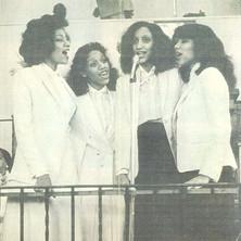 Sister Sledge singing in Church