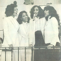 Sister Sledge singing in Church