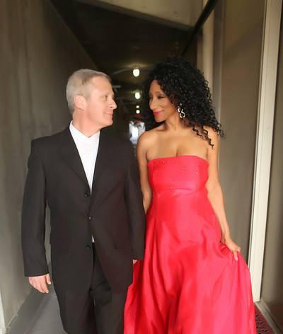 Debbie with husband