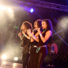 Sister Sledge on Stage, London, 2015
