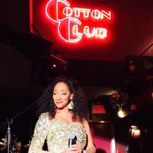 Debbie at the Cotton Club
