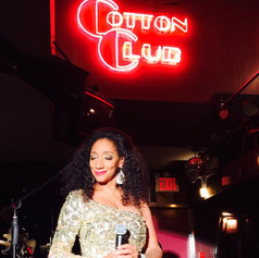 Debbie at the Cotton Club