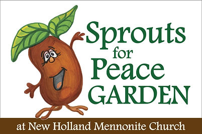 Sprouts for Peace Garden | New Holland Mennonite Church