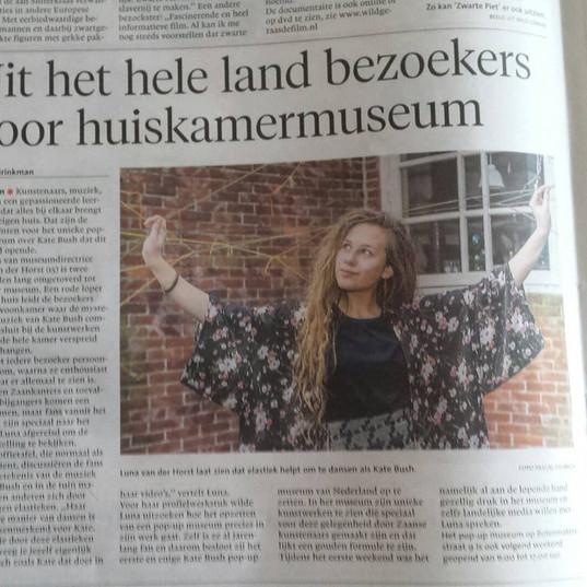foto kranten artikel