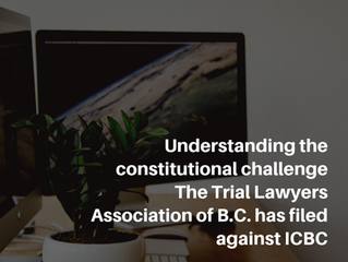 Understanding the constitutional challenge The Trial Lawyers Association of B.C. has filed against I