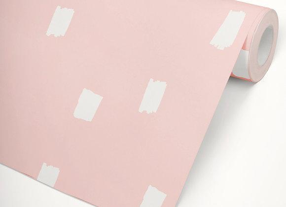 Papel de Parede Candy rosa