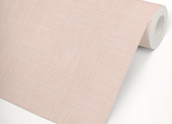 Papel de Parede Linho rosa