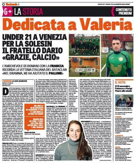 La Gazzetta dello Sport del 01/06/2016