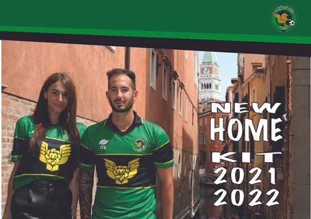 ARRIVATA LA NUOVA MAGLIA STAGIONE 2021/22