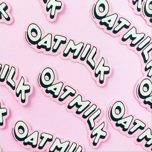 Oat Milk Sticker Mini