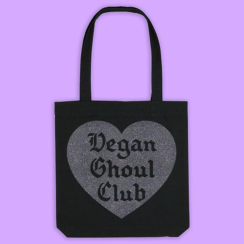 Halloween Special - Vegan Ghoul Club Recycled Tote Bag