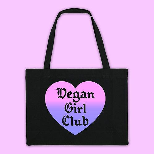 Vegan Girl Club Recycled Shopping Bag