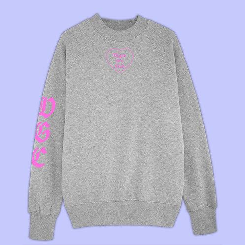 Vegan Girl Club Organic Sweatshirt