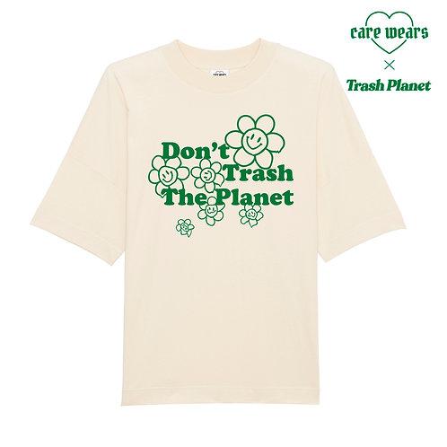 Don't Trash The Planet - Organic T-shirt