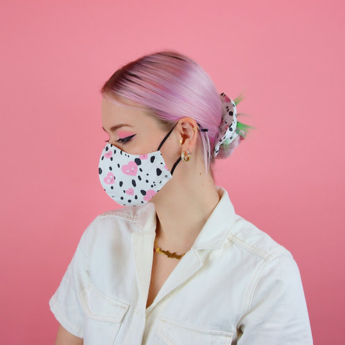 Handmade Organic Cotton Face Mask