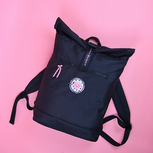 'Kindness Is Cute' Recycled Backpack