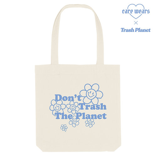 Don't Trash The Planet - Recycled Tote Bag