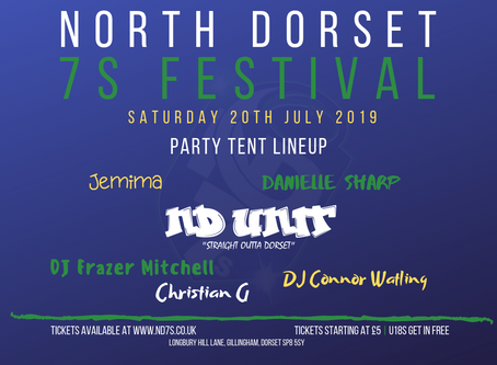 ND7s 2019 - Party Tent Lineup