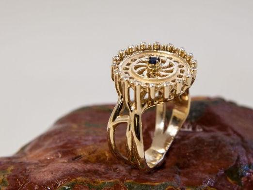 Larius Prosperitas. Teresa Kutuzova. Ювелирный каталог. Ювелирная коллекция. Заказать дизайнерское кольцо.