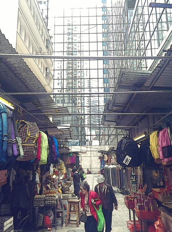 HDR_Market , HongKong