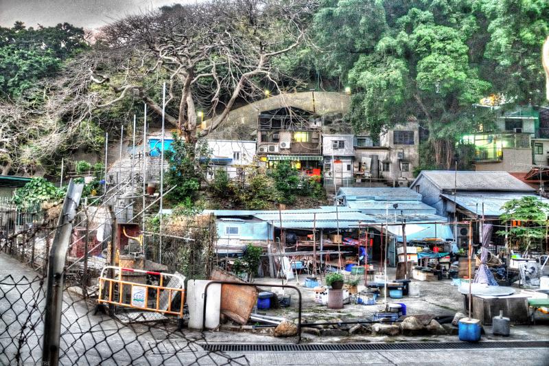 HDR_Fishing Village , HongKong