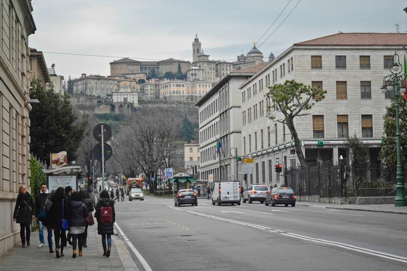 Cita Alta, Bergamo, Italy