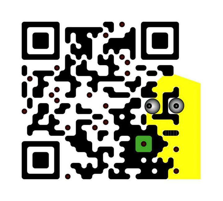 Facebook - Scan with QR code reader on smartfone