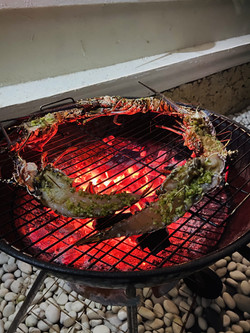 Langouste Barbecue
