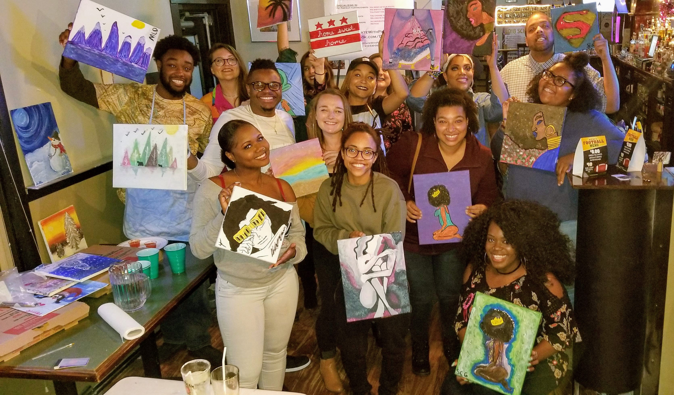 Date With Paint Baltimore S Favorite Sip Paint Team