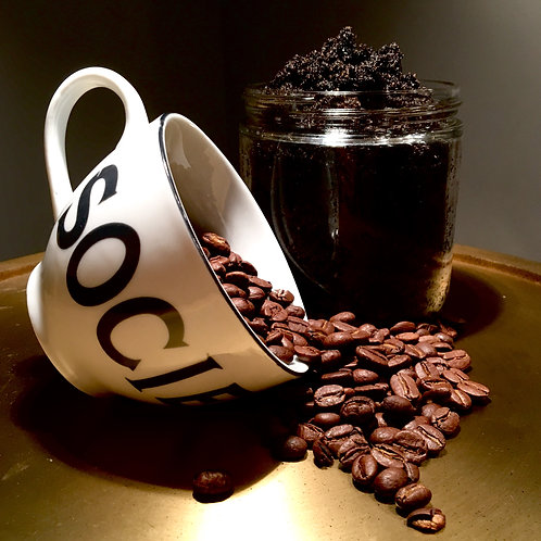 Coffee scrub 16oz