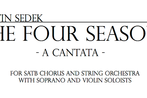 The Four Seasons | Vocal Score