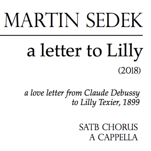 A Letter to Lilly