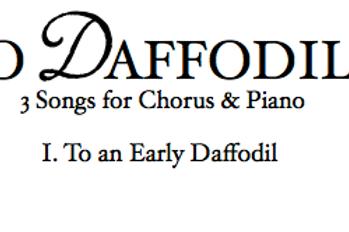To Daffodils