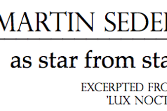 As Star from Star | from Lux Noctis