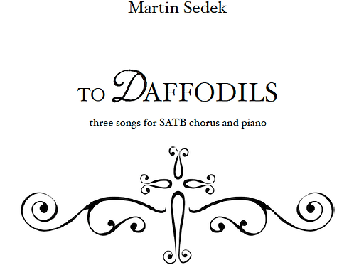 To Daffodils: III. When daffodils begin to peer