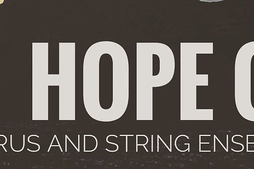 Hope On | Vocal Score