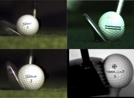 How to squeeze the tennis ball, a golf comparison