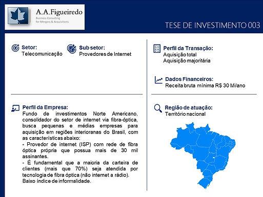 Telecomunicações - Tese de Investimento 003