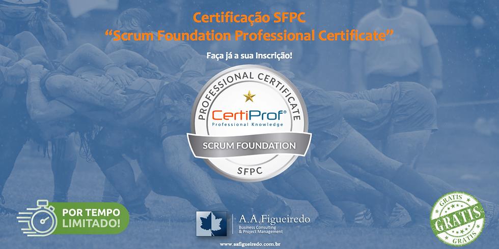 Certificação SFPC - Scrum Foundation Professional Certificate