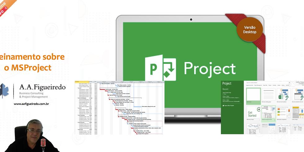 Treinamento sobre o MSProject