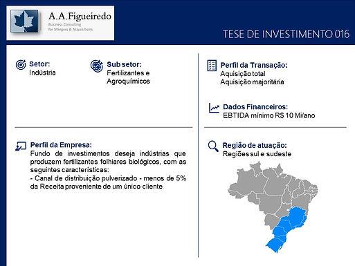 Indústria - Tese de Investimento 016