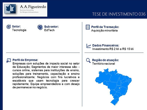 Tecnologia - Tese de Investimento 036