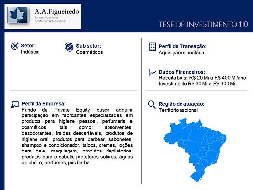 Indústria - Tese de Investimento 110