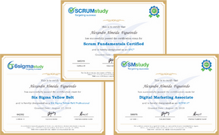 Treinamentos On-line e Certificações Grátis! Scrum, Marketing Digital e 6Sigma.